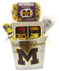michigan gift baskets of michigan tailgating gift basket by personalized gift