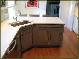 Corner Kitchen Cabinet Sizes Kitchen Large White Self Rimming Corner Kitchen Sink With White