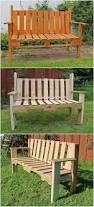 Pallet Patio Furniture Ideas by Bench Making A Garden Bench From Pallets The Best Pallet Outdoor