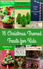 christmas themed treats for kids
