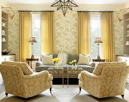yellow living room furniture elegant yellow living room interior decorating ideas with light