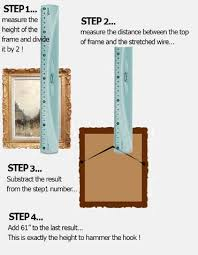 level to hang picture frames how high to hang art