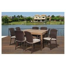 Target Teak Outdoor Furniture teak patio dining sets target