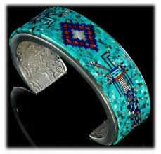 How To Make Inlay Jewelry - turquoise jewelry