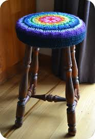 bar chair covers 25 best bar stool covers ideas on stool cover crochet