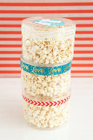 popcorn favors adorable he popped the question popcorn favors