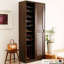 Shoe Cabinet Charming Shoe Cabinets With Doors 86 About Remodel Online With