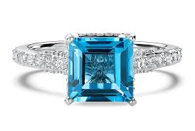 blue gemstones rings images The meaning of colored gemstone engagement rings ritani jpg