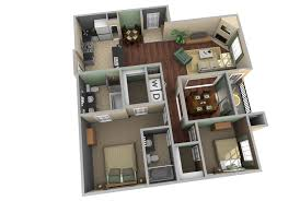 Floor Plan Designer Free Download Home Design Three Bedroom House Apartment Floor Plans 3d