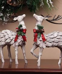 White Christmas Reindeer Decorations by 81 Best I Love Reindeer Images On Pinterest Christmas Ideas