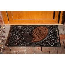Cast Iron Doormat Woodland Wonderland U201d Squirrel Cast Iron Door Mat Cast Iron Door