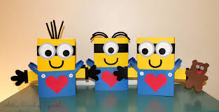 pinch sparkle minion valentine boxes