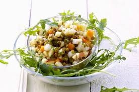 cuisine lentilles vertes salade de lentilles vertes à la roquette