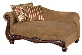 Acme Living Room Furniture by Olysseus Sofa In Brown Floral Fabric By Acme Furniture