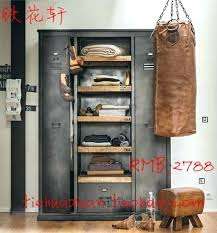 Vintage Metal Storage Cabinet Wardrobes Hot Selling Cheap 3 Door Steel Storage Cabinet Locker