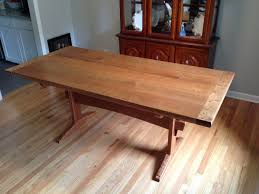 Cherry Dining Table Fumed Curly Cherry Dining Table By Jonsprague0000 Lumberjocks