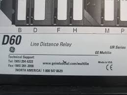 ge multilin d60 line distance relay d60j03hmhf8lh6nm6np6cu6cwxx