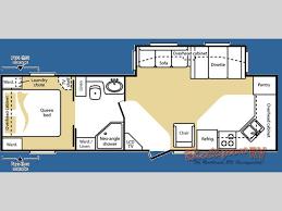 Cougar Trailer Floor Plans Used 2008 Keystone Rv Cougar X Lite 29fks Travel Trailer At