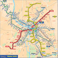Metro Maps Metro Map Of Toulouse Metro Maps Of France U2014 Planetolog Com
