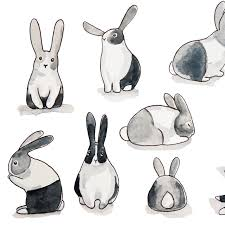 bunny rabbit wallpaper removable u2013 rocky mountain decals