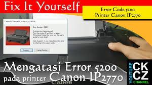 resetter printer canon ip2770 per ip2700 printer service mengatasi error 5200 pada printer canon ip2770