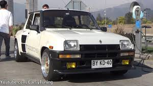 renault 5 turbo renault 5 turbo 2 acceleration youtube