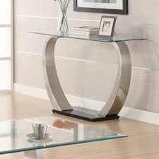 Grey Entryway Table by Furniture Stainless Foyer Tables Design Ideas With Wall Art Plus