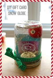 gift card snow globe heidi and seek diy crafty christmas 2014 gift card snow globe