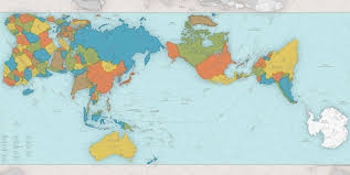 map of erth it s not a new earth just a new perspective authagraph world