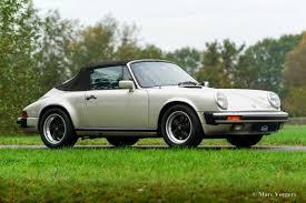porsche cabriolet classic porsche 911 carrera 3 2 cabriolet 1984 welcome to classicargarage
