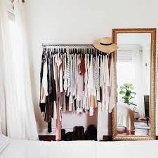 Kylie Jenner Inspired Bedroom Fashionista Decor Inspiration Garment Rack Closets U2014 Very Sarie