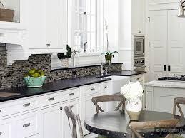 kitchen kitchen black granite countertops white cabinets island