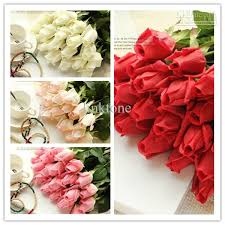 bulk roses best wedding decorations bridal bouquets flowers artificial
