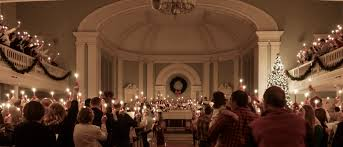 university lighting chapel hill christmas love feast university umc