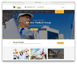 Best Website Color Schemes by 30 Best Construction Company Wordpress Themes 2017 Colorlib