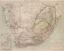 Southern Africa Map by Angolan Links And Old Maps