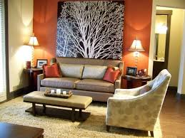 Orange Accent Wall by Awesome Best Accent Wall Colors Inspirations Interior Decoration
