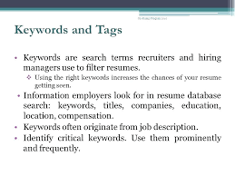 keywords for resumes keywords for resumes 2014 u2013 inssite