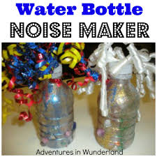 nye noisemakers water bottle noise maker new years craft water bottles