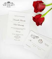 wedding invitations rsvp cards simple wedding invitation rsvp cards set of 10 vip