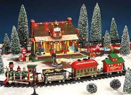 lemax christmas model railways and miniature trains christmas displays