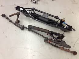 mustang 2 power rack and pinion unisteer rack pinion conversion rod