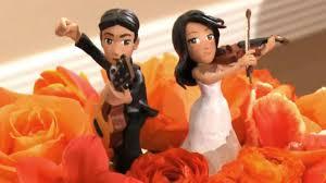 how to make cute wedding cake figures youtube