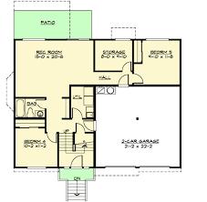 5 Level Split Floor Plans Spacious Split Level Home Plan 23442jd Architectural Designs