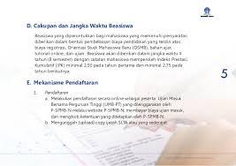 pendaftaran tutorial online ut informasi beasiswa ut