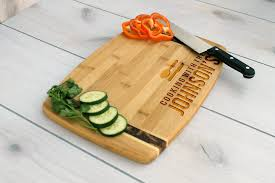 custom cutting boards handmade wood cutting boards custommade com personalized cutting board cutting board wedding gift cb bamm cooking with the johnsons family