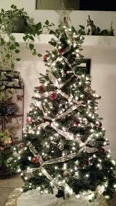 Christmas Tree Ribbon Decorating Christmas Christmase Ribbon Shirt How Tochristmas Garland