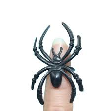 hey funny 15pcs lot small plastic fake spider toys halloween funny