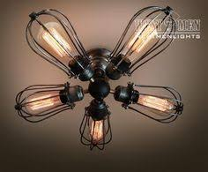 Edison Bulb Light Fixtures Vintage Ge Electric Fan With Edison Bulbs 13 By Newedisonvintage