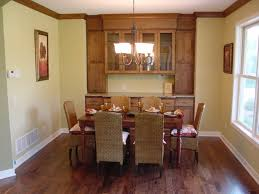 attractive dining room hutch design